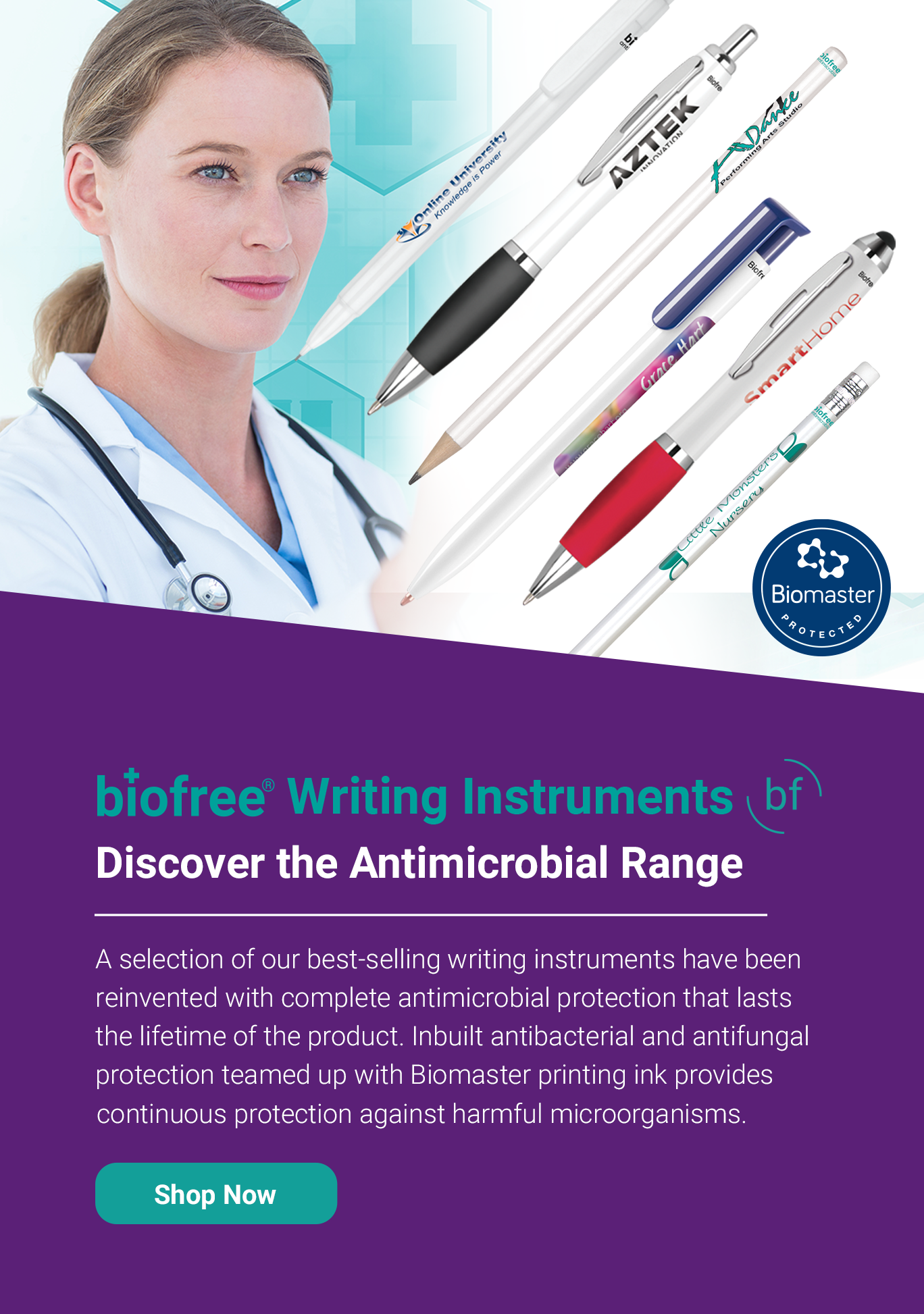 Biofree Writing Instruments
