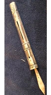 Image of Victorian Ink Scraper Eraser