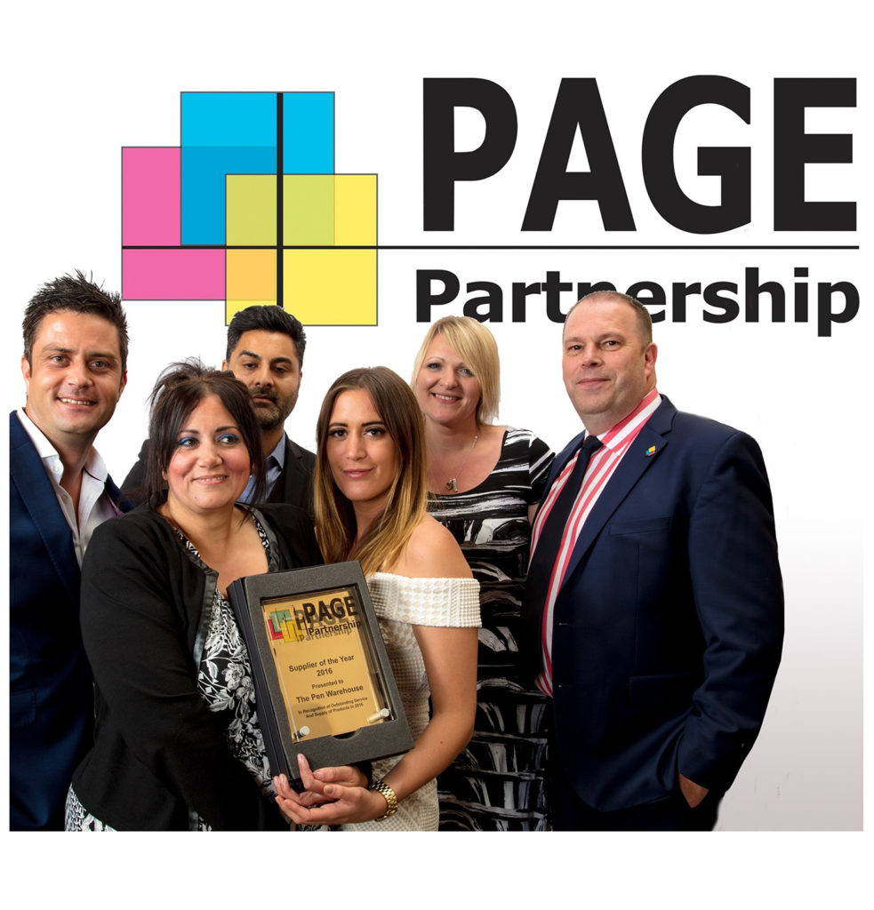 article Image for Pen Warehouse Win Top Supplier in 2017 PAGE Awards