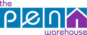 Blue & Purple Pen Warehouse Logo