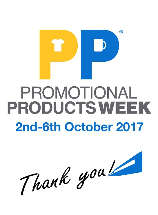 "blog Image for Promotional Products Week 2017 – Say ""Thank You"" With Personalised Gifts"