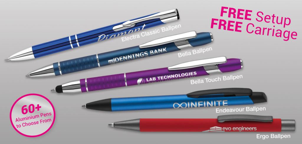 The Pen Warehouse engraved pens