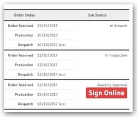 pens.co.uk Order Status