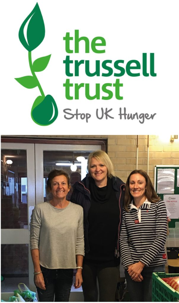 Pen Warehouse at Trussell Trust