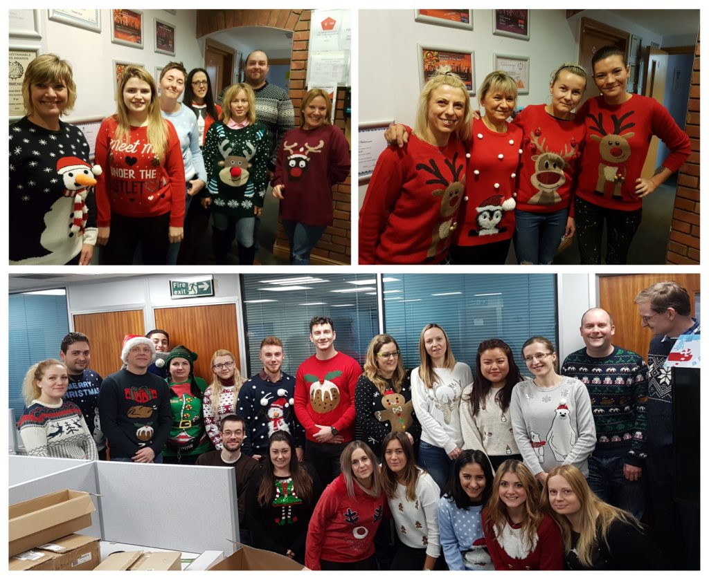 Christmas Jumper Day Pen Warehouse