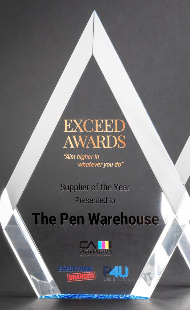 Exceed Award Supplier Pen Warehouse