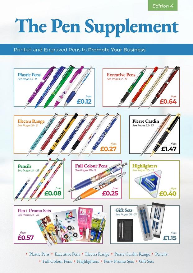 Pen Supplement 4 end user catalogue