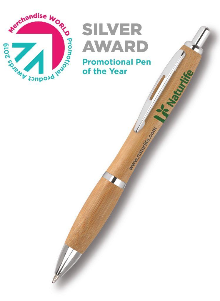 Contour Wood Ballpen Award