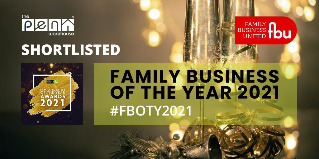 Image for The Pen Warehouse is Shortlisted for the Family Business of the Year Awards 2021