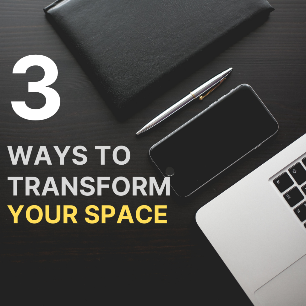 blog Image for Back to Work: 3 Ways to Transform your Space