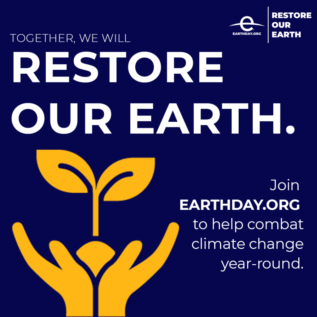 Image for Celebrating World Earth Day: Restore Our Earth™