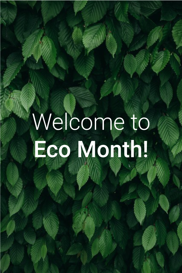 blog Image for Welcome to Eco Month!