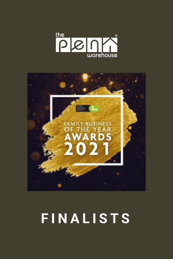 article Image for The Pen Warehouse make the finals of the Family Business of the Year Awards 2021